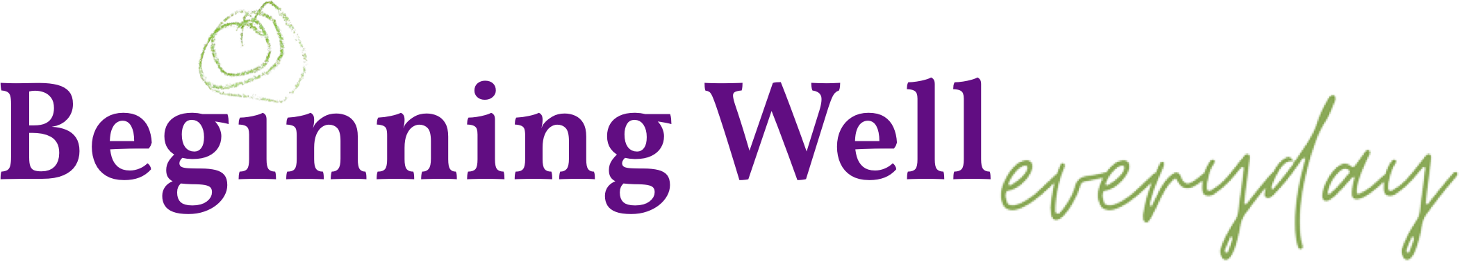 Beginning Well Everyday Logo